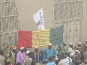 Workshop crépissage de la mosquée de Djenné